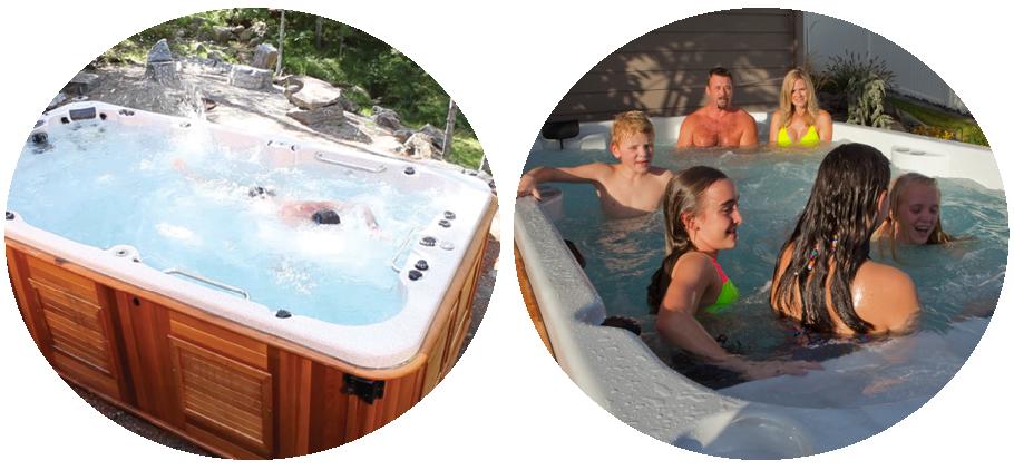 outdoor living show arctic spas burlington. Black Bedroom Furniture Sets. Home Design Ideas