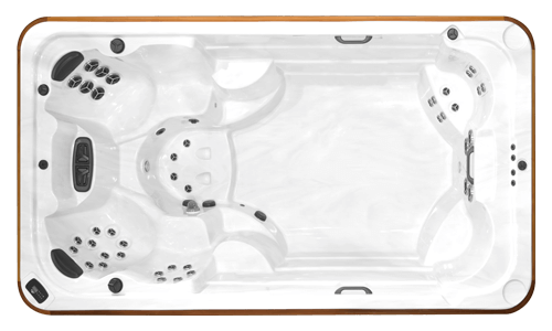 Top view of the Arctic Spas All Weather Pool Ocean Signature