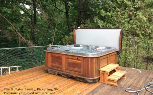 hot tubs filling the gta- ajax, pickering and toronto