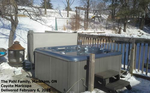 best way to beat the february blues? you got it- get into arctic spas durham!
