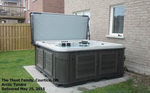 customize your arctic spa!