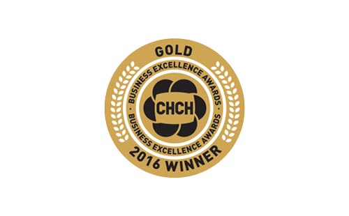 gold winner of chch business excellence award!
